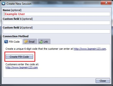 how to use logmein rescue